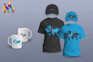 brand identity multigraphica work hat cup t-shirt print design